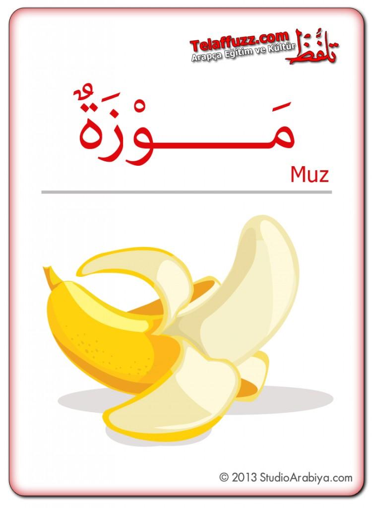 Flashcards-Fruits-Banana
