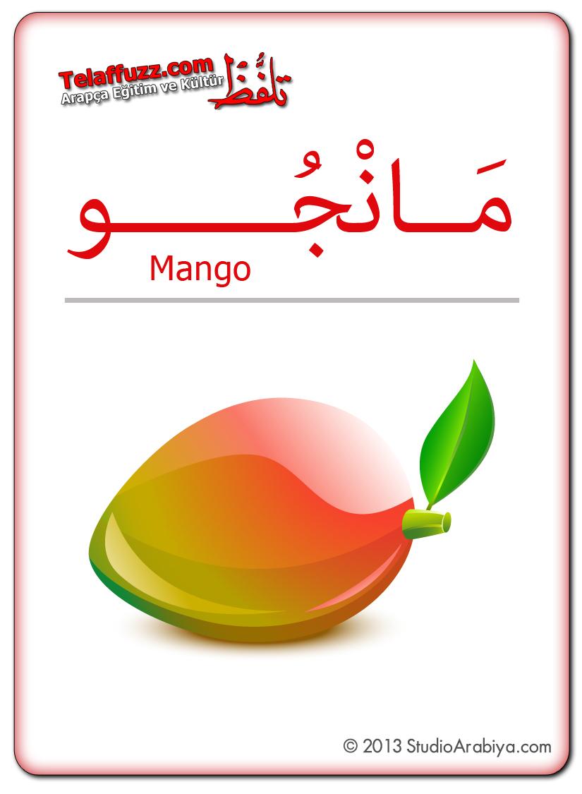 Flashcards-Fruits-Mango